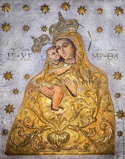 Ikona Della Madonna dei pascoli